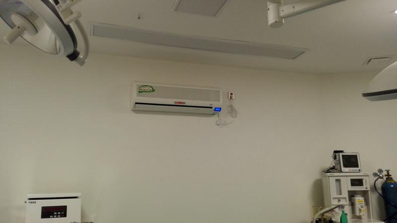 手术室壁挂式空气消毒机
